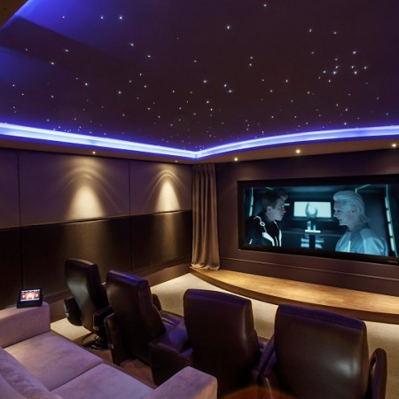 Completed cinema room